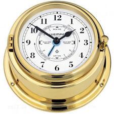 Horloge Quartz Bremen II Laiton Avec Indicateur de Marée Wempe  Navire Horloge
