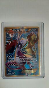 Pokémon Mewtwo EX 163/162 Secret Rare, Full Art XY: Breakthrough