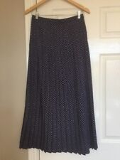 BNWOT DCC VERY Smart Ankle Length Pleated Floaty Skirt in Purples Size 12/35