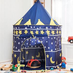 Children Kids Baby Pop Up Play Tent Fairy Girls Boys Playhouse Indoor Outdoor UK