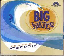 Big Waves FIVE DECADES OF SURF ROCK Various Artists 2007 Rhino Starbucks CD 60s