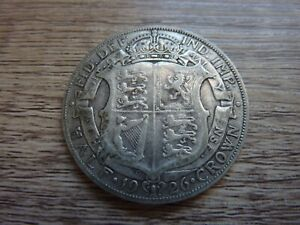 1926 Silver Half Crown (ref77B)