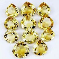 Wholesale Lot 4mm to 10mm Pear Facet Natural Citrine Loose Calibrated Gemstone