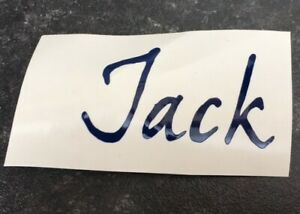 1x Personalised Name/word Vinyl Decal Sticker Ideal for Water Bottles