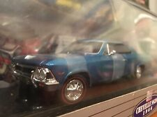 Classic Metal Works 1:24 1966 Chevy Chevelle SS396 Blue Item 58819