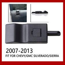 Fits Chevy/GMC Silverado/Sierra 07-13 Door Lock Knobs Front/Rear Ebony Black