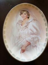 Princess Diana The Peoples Princess Numbered Collector Plate Lady Diane Bradford