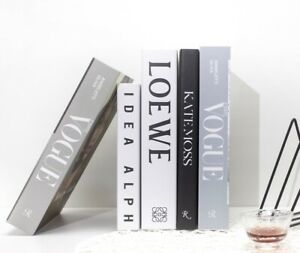 Fashion Books Home Decoration Book Box Stylish and Desktop Decor