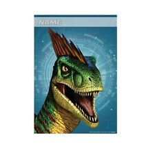 Party Supplies Birthday Licensed Jurassic World Dinosaur Loot Bags Pack of 8