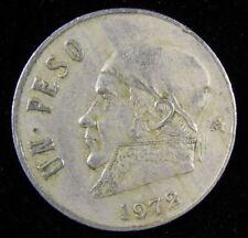 1972 , Un Peso ,1 Peso , Mexico, coin
