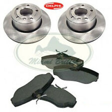 LAND ROVER FRONT BRAKE PAD & ROTOR DISC SET DISCOVERY 2 II MR0128 DELPHI