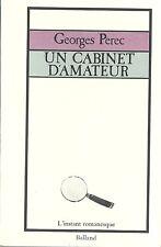 EO GEORGES PEREC : UN CABINET D'AMATEUR. HISTOIRE D'UN TABLEAU