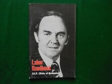 State of Queensland.      Policy Handbook of the Australian Labor Party.