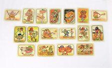 1973 Donruss Baseball Super Freaks Trading Cards – 17 Total