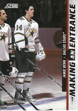 11/12 SCORE MAKING AN ENTRANCE #1 JAMIE BENN STARS *3081