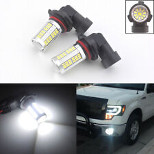 2 Xenon White H10 9145 9140 PY20D Car Truck Driving Fog Lights 102-SMD LED Bulbs