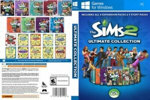 The Sims 2 Complete Collection  ALL Expansions For PC (Download)