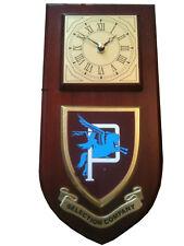 Parachute Regiment P Company Selection Military Shield Wall Plaque Clock