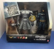 "Justice League Multiverse Batman vs Steppenwolf Figures Action Figure 12 "" NIB!!"