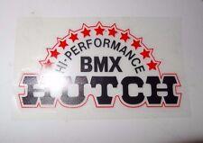 HUTCH BMX Decal Clear bkg