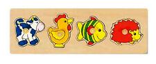 Goki Plug Toys Puzzle (4 Piece)
