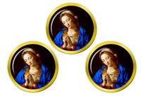 Blessed Virgin Mary Marqueurs de Balles de Golf