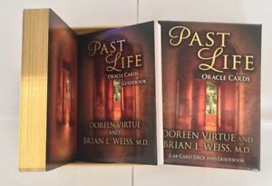 Doreen Virtue / Brian L Weiss Past Life Oracle Card Deck and Guidebook