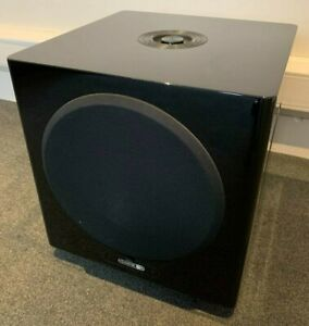 Monitor Audio Gold W12 Subwoofer - Piano Gloss Black - Used