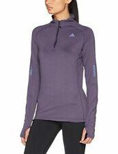 adidas Performance Womens Supernova Long Sleeve Running Gym Zip Neck Top
