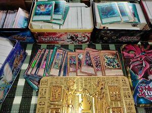 Lot De 500 Cartes Yu-Gi-Oh avec GOLD SECRET , ULTRA RARE , SUPER RARE , COMMUNE!