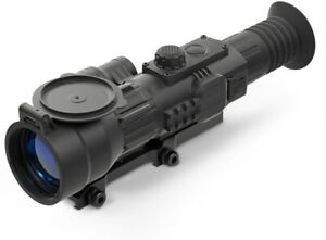 Yukon Sightline 6-24x70mm N470S Digital Night Vision Riflescope, Black, YK26407