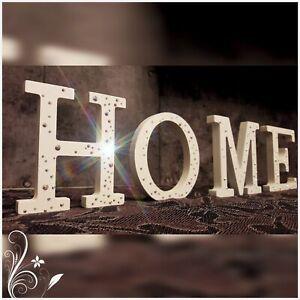 Scritta in Legno GOOD Home Decor Arredo Casa Living Targa decorativa da appoggio