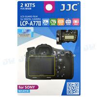 JJC 2PCS LCD Guard Film Camera Screen Display Protector for Sony A77 II A77 M2
