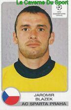 287 JAROMIR BLAZEK REP.CZECH SPARTA PRAHA STICKER CHAMPIONS LEAGUE 2002 PANINI