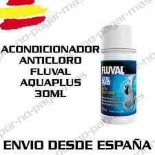 ACONDICIONADOR ANTICLORO AGUA PARA ACUARIO FLUVAL AQUAPLUS 30ML PECERA GAMBARIO