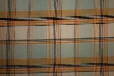 Plaid Poplin Print #24 Cotton Lycra Spandex Stretch Woven Apparel Fabric BTY