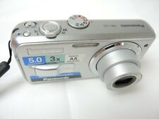 Panasonic LUMIX DMC-LS2 5.0 MP Digital Camera – Silver with 3x Image Stabilized