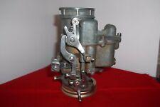 1954 FORD 239, HOLLEY 94, MODEL #EBU, 2-BL CARBURETOR for V8 Manual Transmission