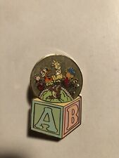 Disney Auctions Baby Tigger And Pooh Pin Le Winnie The Pooh Piglet Rabbit Train