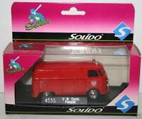 SOLIDO 1/43 SCALE 4535 - VOLKSWAGEN VW COMBI - POMPIER FRANKFURT