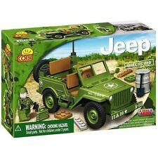 COBI - Small Army Vehicle ~ Willys MB Jeep 100 Piece Block Set #NEW