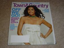 PADMA LAKSHMI * TRAVEL ISSUE France Brazil April 2009 TOWN & COUNTRY MAGAZINE