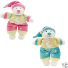 NEW soft plush toy glow TEDDY BEAR child baby safe BLUE TEDDY BEAR BOY GIFT