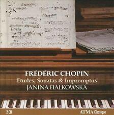 Chopin: Etudes, Sonatas & Impromptus (CD, May-2010, 2 Discs, ATMA Classique)