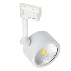 7W/10W/15W COB LED Ceiling Light Track Rail Picture Lamp Rotatable Exhibition