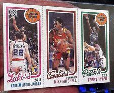 1980-81 Topps KAREEM ABDUL-JABBAR Scoring Ldr #132 Mitchell Tyler Pack Fresh NM