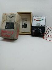 Vintage Micronta Battery Tester model no. 22-031 original box w/ instructions