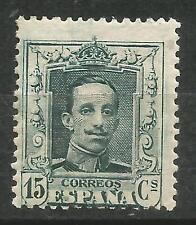 SPAIN Edifil # 315A ** MNH Alfonso XIII Vaquer Sin Fijasellos / escaso