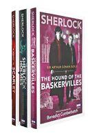 Sherlock Holmes Adventures 3 Books BBC TV Series Editions Arthur Conan Doyle New