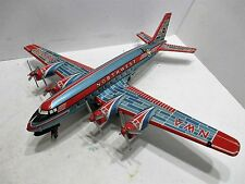 NORTHWEST AIRLINES DC-7-TURNING PROPS & FLASHING WING TIP LIGHTS EXCELLENT JAPAN